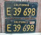 California Black License Plates
