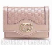 Gucci Pink Wallet