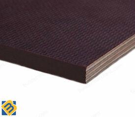 Anti-Slip Mesh Phenolic Resin Plywood Sheets 18mm Trailer Flooring Buffalo Board