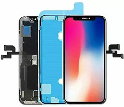 For iPhone X 5.8″ OLED LCD Display Black Touch Screen Replacement Digitizer US Cell Phone & Smartphone Parts