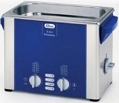 Elma Elmasonic S30h 2.75 Liter Heated Ultrasonic Cleaner And Basket New