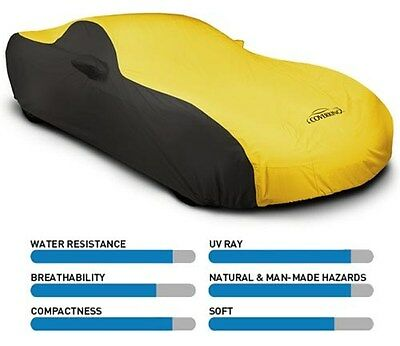 Coverking Two Tone Stormproof Car Cover - Indoor/Outdoor - Best for (Best Mini Cooper Car Cover)