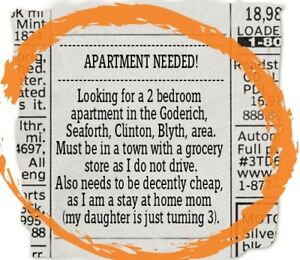 Im Looking For A Two Bedroom Apartment!