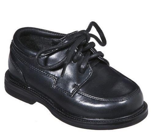 toddler boys black dress shoes ebay