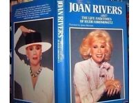 The Life and Hard Times of Heidi Abromowitz-Joan Rivers(Hardback Book).