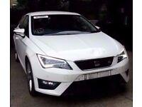 2013 MK3 SEAT LEON FR 1.8 TFSI CJS IN WHITE BREAKING FOR PARTS