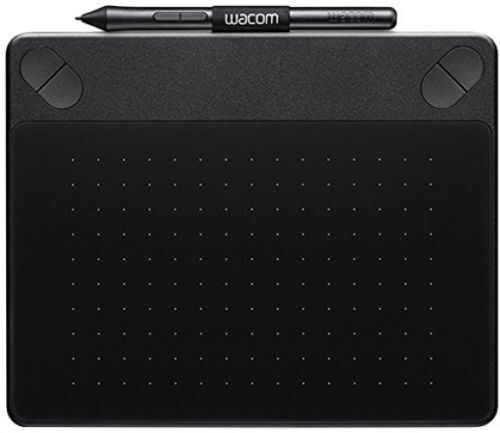 Wacom Intuos 'Comic' Pen and Touch Graphics Tablet, small, black -New-