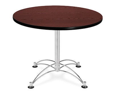 New 36 Round In Office Multi-purpose Laminate Top Table Lightweight And Sturdy