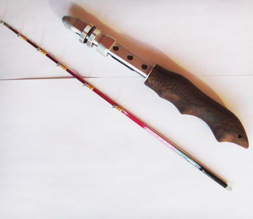 Vintage ice fishing rod ebay for Old fishing rods