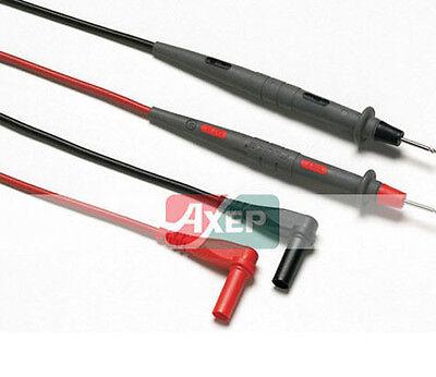 Fluke Tl71 Multimeter Dmm Premium Test Lead Set Dual Rated 600 1000v 10a