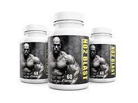 NO2 Blast Biogenic Weight Gain & Libido Enhancer for Men UK Manufactured NO MAX SHRED