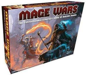 MAGE WARS FIRST EDITION.BOARD GAME.
