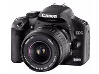 Canon 500D Camera . Body only .