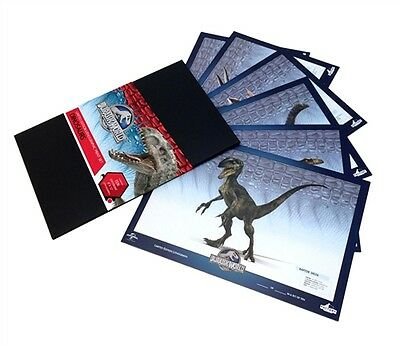 "JURASSIC WORLD  ""DINOSAURS"" Lithographic Print Set Tyrannasaurus Rex NEW SEALED"