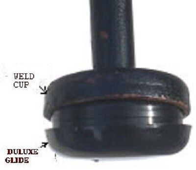 """20  DELUXE INSERT glide 1-1/2"""" for wrought iron  table and chairs"""