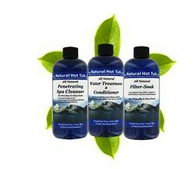 (Spa Cleaner Water Treatment Natural Silky Moist Skin from A Natural Hot Tub!)