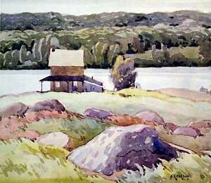 Limited Edition Appraised A. J. Casson Lithographs Cambridge Kitchener Area image 5