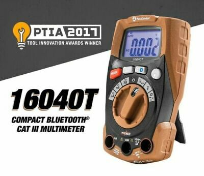 Southwire 16040t Compact Bluetooth Cat Iii Multimeter-new