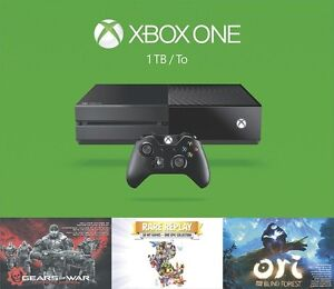 BRAND NEW XBOX ONE 1TB SPRING BUNDLE+2 MORE GAMES
