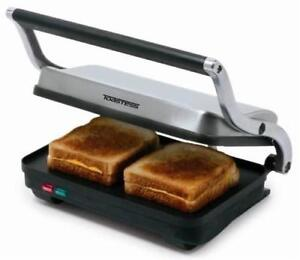 NEW Toastess TSG710 Sandwich Grill, Stainless Steel Condition: New