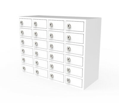 24 Slot Cellphone Locker STORAGE Charging Station Class Camp Security No-phone