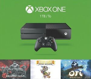 NEW XBOX ONE 1TB SPRING BUNDLE+2 MORE GAMES