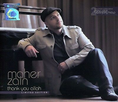 Maher Zain   Thank You Allah  Limited Edition  New Cd  Asia   Import