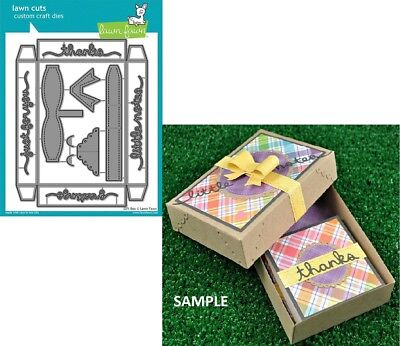 Dice Set Gift Box - Lawn Fawn GIFT BOX Lawn Cuts Die Set LF1484