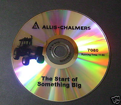 New Farm Tractor Sales Color Dvd For Allis Chalmers 7080 Ac