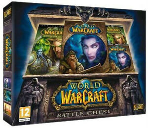 Blizzard World of Warcraft Battle Chest (coffret) et autre NEUF