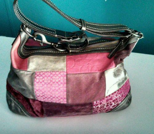 Coach Holiday Patchwork: Handbags & Purses | eBay