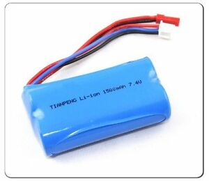 7.4V 1500mAh battery for MJX F45 F645 RC helicopter Accs Replacement New US Ship