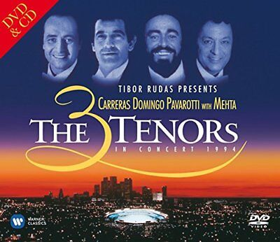 The 3 Tenors in Concert - Los Angeles 1994 CDDVD - 20th Anniversary