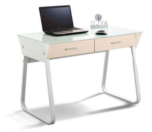 schreibtisch mit glasplatte g nstig online kaufen bei ebay. Black Bedroom Furniture Sets. Home Design Ideas