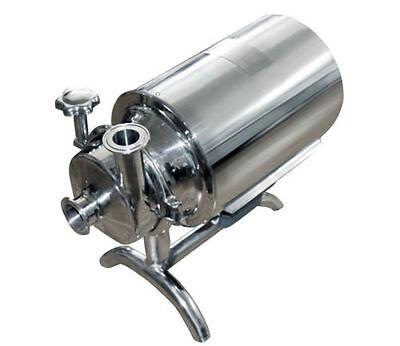 Stainless Steel Sanitary Pump Sanitary Beverage Milk Delivery Pump 110 V