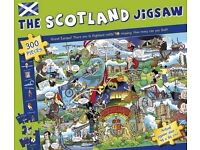 he Scotland Jigsaw Puzzle 300 Pieces Brand New & Sealed