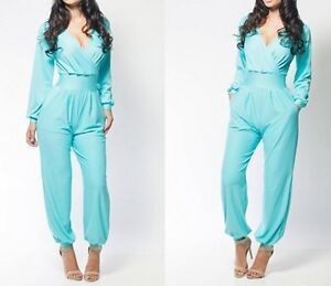 Beautiful Turquoise SPELL DESIGN Jumpsuit  Vestiaire Collective