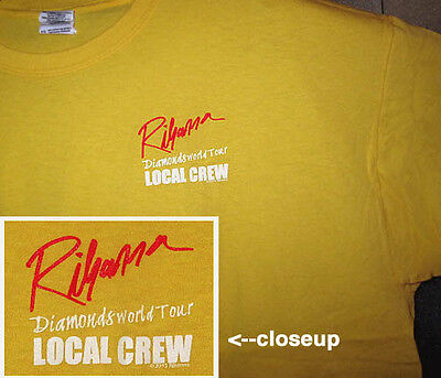 RIHANNA DIAMONDS WORLD TOUR Local Crew shirt Unique Gift
