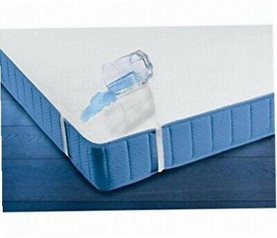 Wasserdichter Matratzenschoner 120x60 Babybett atmungsaktiv Frottee Schutzdecke