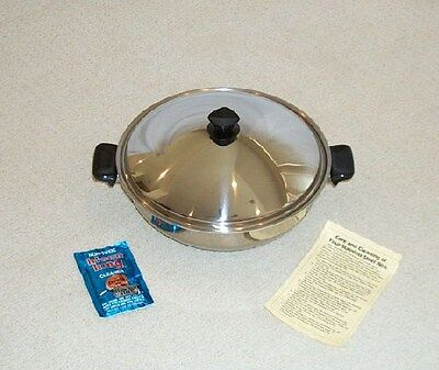 BRAND NEW VITACRAFT VITA CRAFT STAINLESS STEEL WOK WATERLESS COOKWARE - US MADE! for sale  Frisco