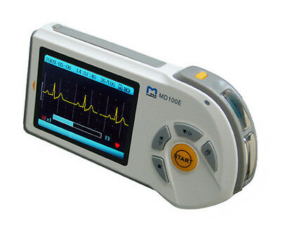 New Model Portable Handheld Ecg Heart Rate Monitor Free 2gb Micro-sd Card