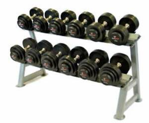 SolidFocus 2 Tier Dumbbell Saddle Rack Holds 10 Pairs BRAND NEW Coogee Eastern Suburbs Preview
