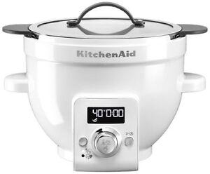 Kitchenaid 5KSM1CBEL weiß beheizte Rührschüssel