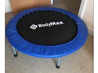 Bodymax Mini Trampoline - Black, 40 Inch