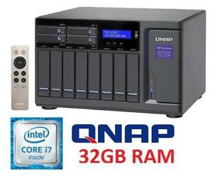 NEW* QNAP 12BAY NETWORK STORAGE TVS-1282-I7-32G-450W-US 141079665 Computers Accessories Data Storage  Network Attache...