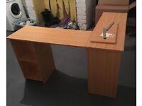 Office L shaped corner desk.