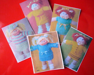 about KNITTING PATTERNS TOY / DOLL - CABBAGE PATCH DOLL CLOTHES # 5