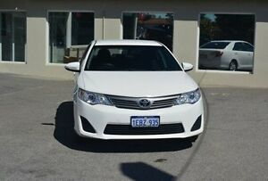 2012 Toyota Camry ASV50R Altise White 6 Speed Sports Automatic Sedan Bayswater Bayswater Area Preview