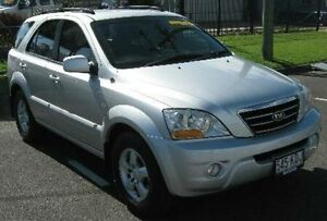 2007 Kia Sorento BL MY08 LX Silver 5 Speed Manual Wagon Bungalow Cairns City Preview