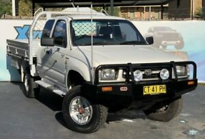 1999 Toyota Hilux RZN174R White Manual Utility Campbelltown Campbelltown Area Preview